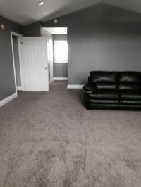 High piled Frise Carpet in a Great Room. - Loving the dark ...