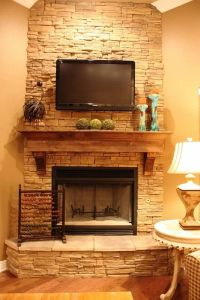 Corner Brick Fireplaces - WoodWorking Projects & Plans