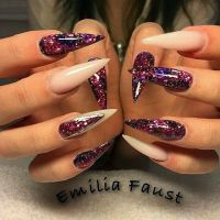 17 Best ideas about Natural Stiletto Nails on Pinterest ...