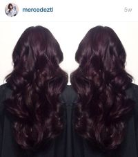 The 25+ best Dark burgundy hair color ideas on Pinterest