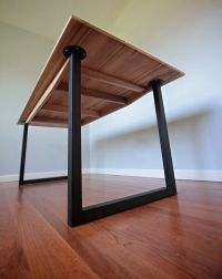 Minimalist Modern Industrial Office Desk or Dining Table ...