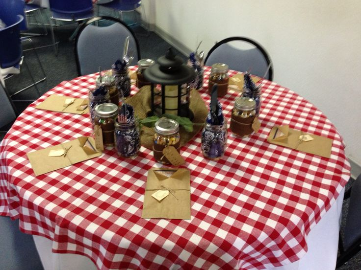 Western Table Decorations  Western Party  Pinterest