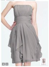 David's Bridal - Mercury - Style F14169. | Inspiration for ...