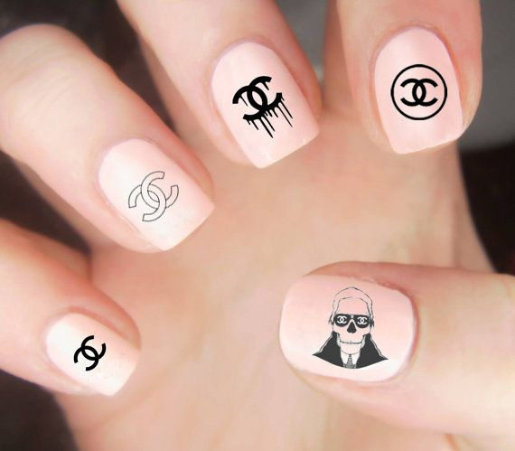 Best 20+ Chanel nails design ideas on Pinterest
