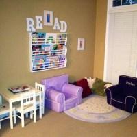 Kids playroom reading nook | Daycare Setup Ideas ...
