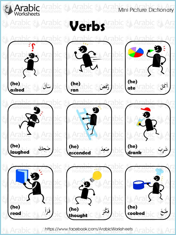 17 Best images about Building my Arabic vocabulary on