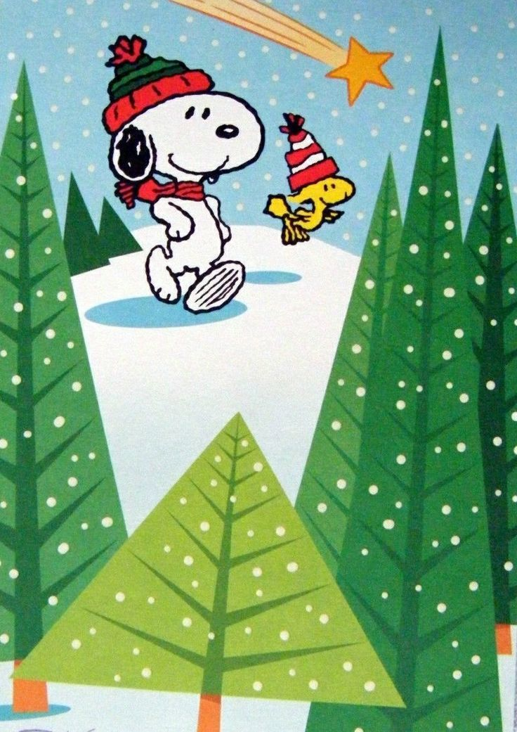 351 Best Images About Snoopy Christmas Winter On Pinterest