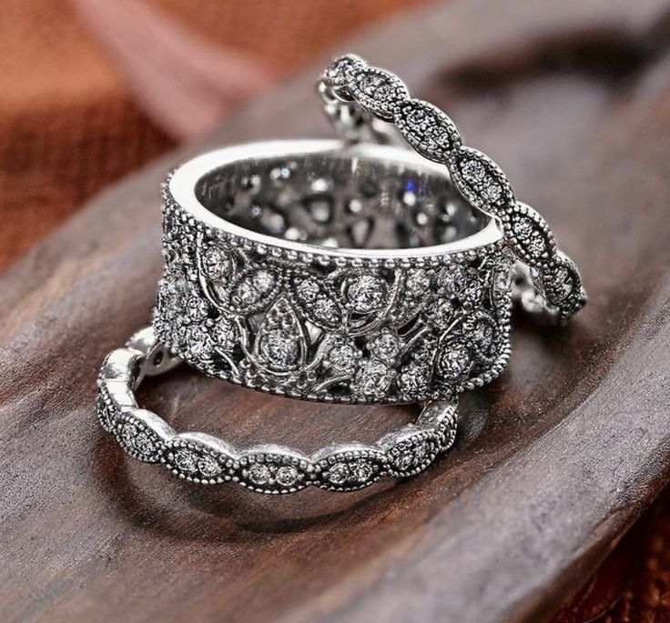 25 best ideas about Pandora rings stacked on Pinterest  Pandora rings Pandora rings jewelry