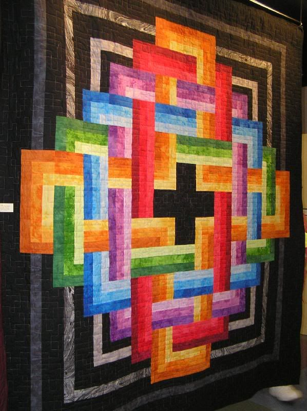 Vortex of Color from 2007 Crossroads Quilt Show anyone