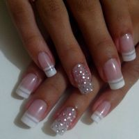 25+ best ideas about Color french manicure on Pinterest ...