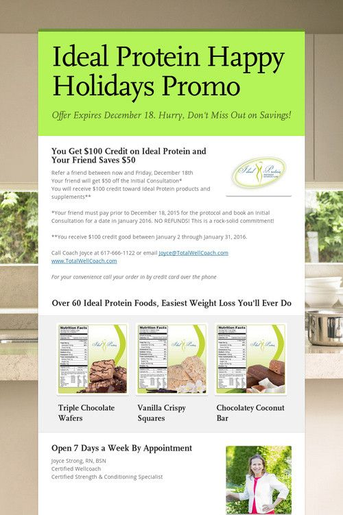 68 best ideas about Ideal Protein Weight Loss on Pinterest