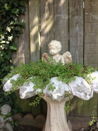 Best 20+ Bird Bath Garden ideas on Pinterest | Diy bird ...