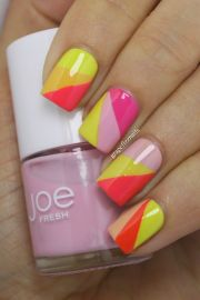 1000 ideas orange nail art