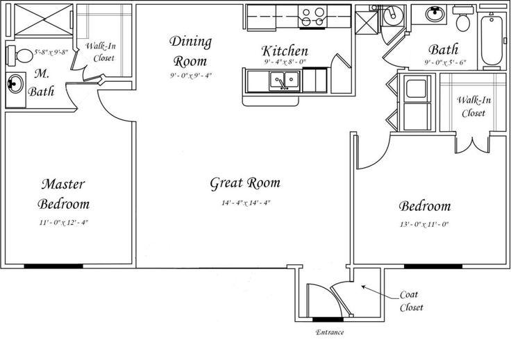 17 Best ideas about Garage Apartment Floor Plans on