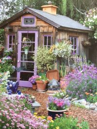 2404 best images about Garden Sheds on Pinterest
