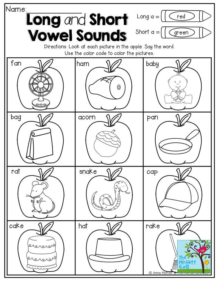 186 best images about Vowels (short and long) Ideas on