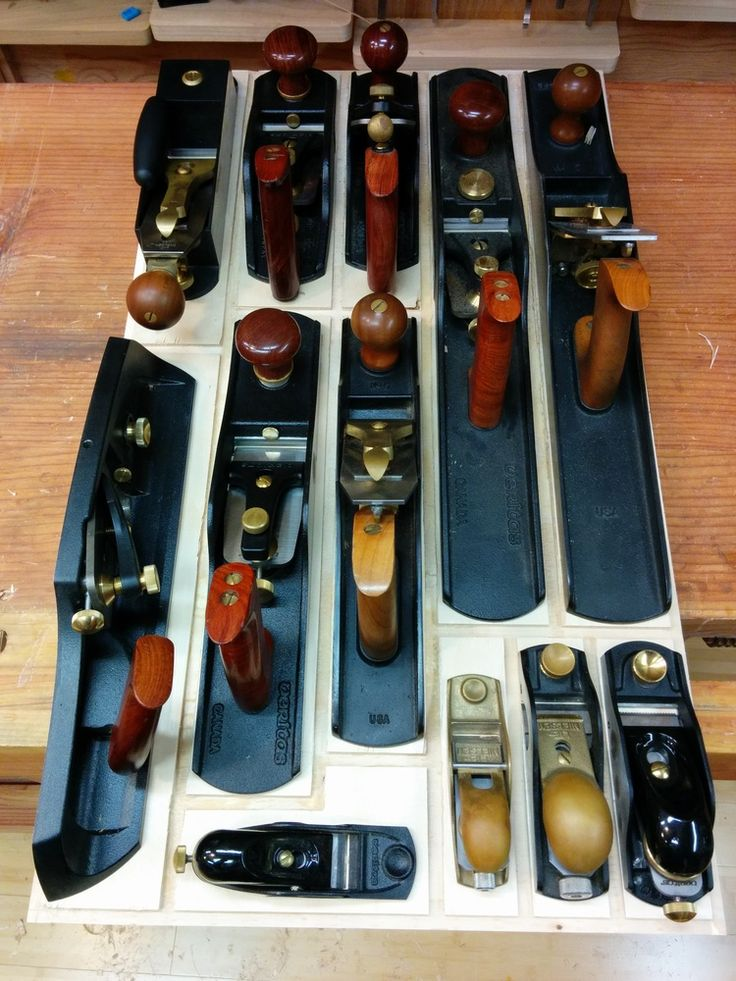 Hand Plane Storage Ideas