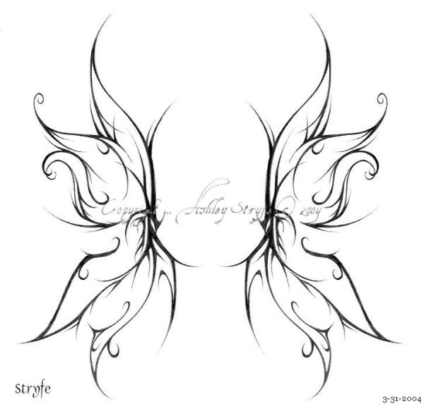 20 Faerie Wing Back Tattoos For Women Ideas And Designs