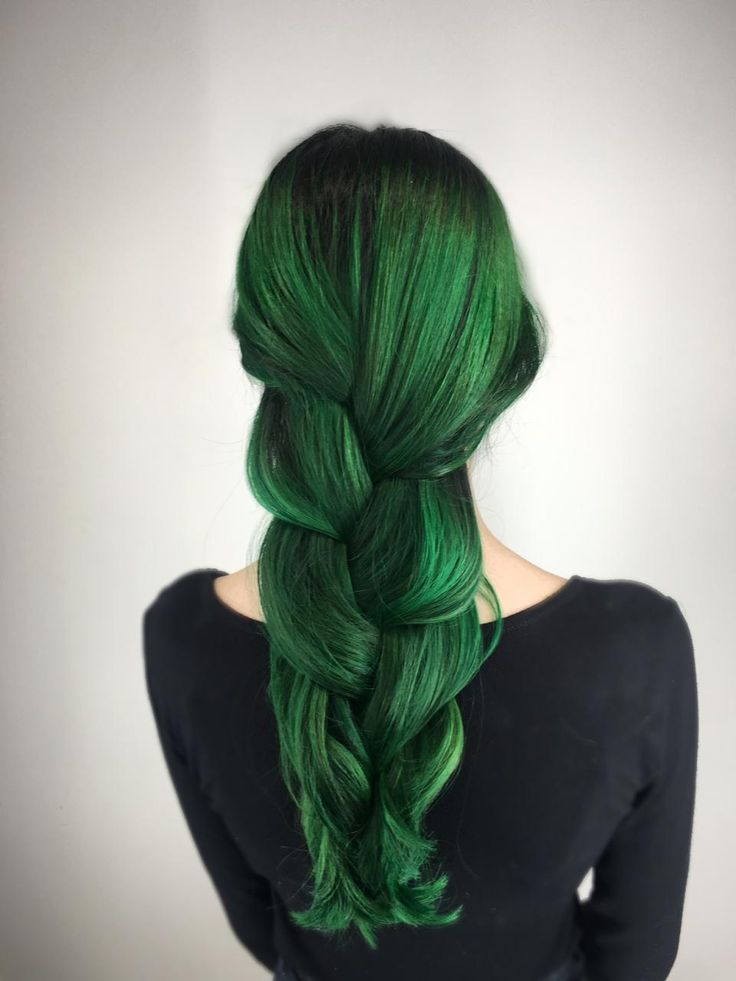 25 best ideas about Dark green hair on Pinterest