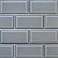 Beveled Gray Subway tile from Arketype.us | New offering ...