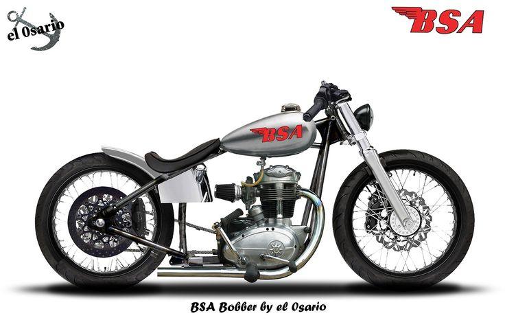 jack455: el-0sario: BSA Bobber Rigid frame, BSA engine, HD