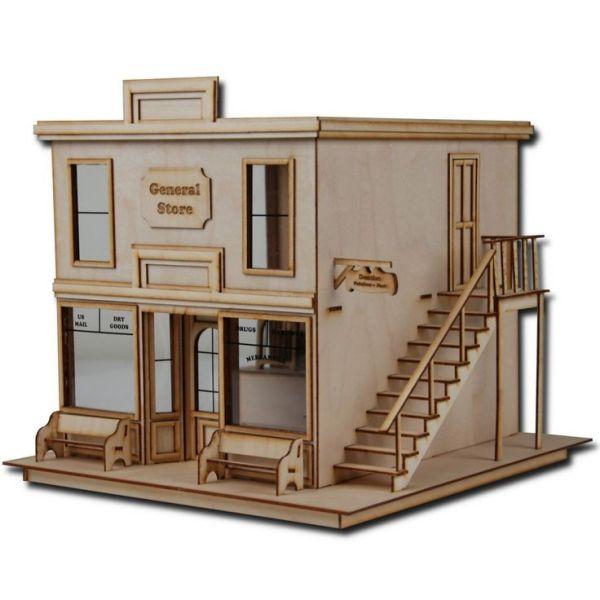 "1 2"" scale dollhouse kit laser"