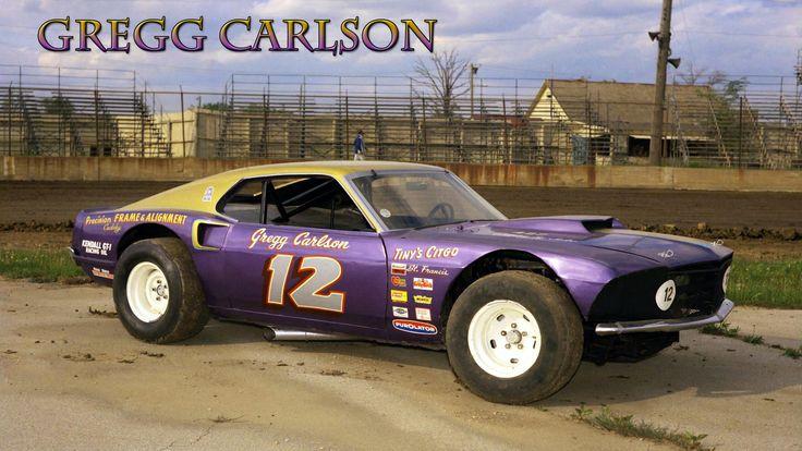 Cars Race Modified 1970s Dirt