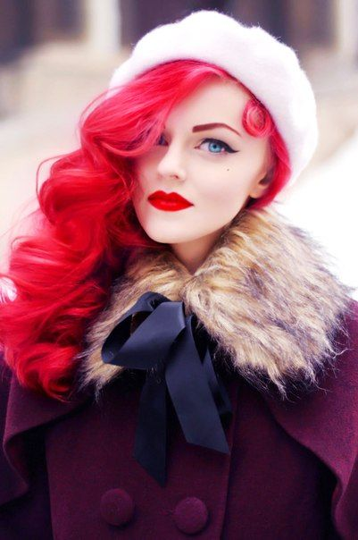 17 Best images about Bright red and curly hair on ...