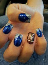 17 Best ideas about Dallas Cowboys Nails on Pinterest ...