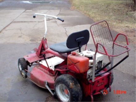 two seater lawn chair herman miller embody redneck two-seater mower. share your funny mower photos: http://www.facebook.com ...
