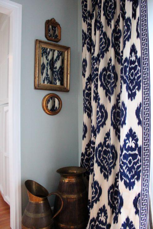 25 Best Ideas About Blue And White Curtains On Pinterest Unique