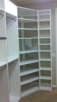 Build Corner Closet - WoodWorking Projects & Plans