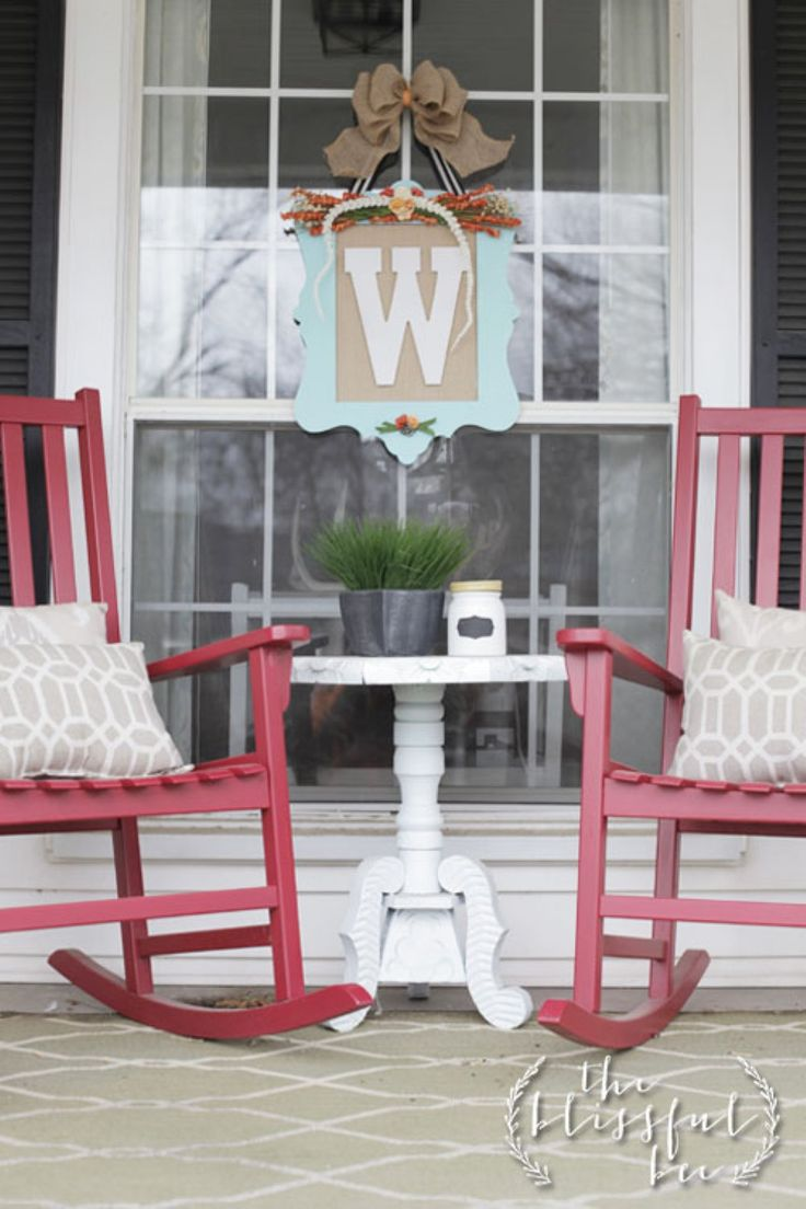 Front Porch Table And Chairs