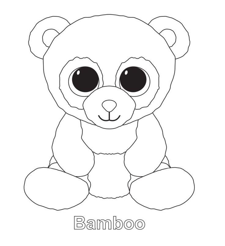 bamboo the panda ty beanie boo  megans 8th birthday
