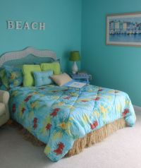 Beach Bedroom: Lovely Teenage Girl Beach Theme Bedroom ...