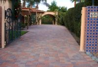 spanish style frontyard ideas | Spanish Tile, Paver ...