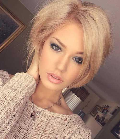 Die Besten 25 Blonde Kurze Haare Ideen Auf Pinterest