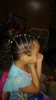 biracial hair styles ideas