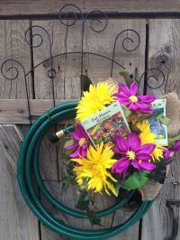 1000+ images about Hose Wreaths on Pinterest