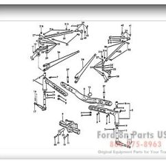 1952 Ford 8n Wiring Diagram Big Stuff 3 03a01 Front Axle Related Parts 1939 52 9n 2n | Tractor Pinterest ...