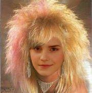 80s hair style