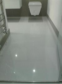 Epoxy resin floors | Cottage bathroom | Pinterest | Epoxy ...