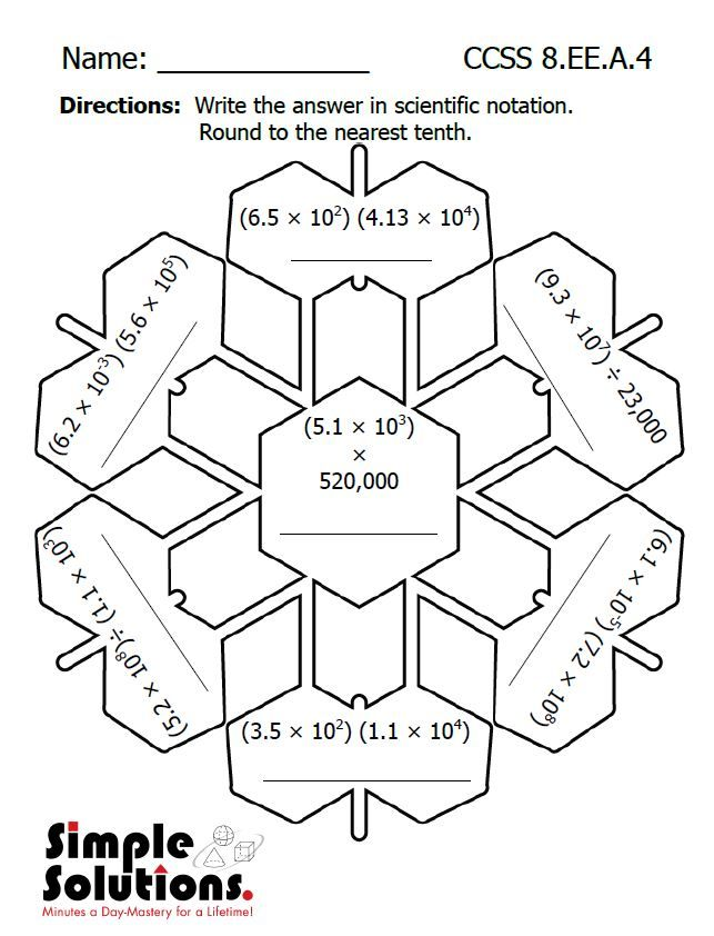 Eighth Grade math worksheet. Free download. #math #snow #