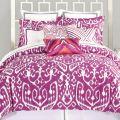 Bedding bed amp bath macy s trina turk purple comforter turk ikat