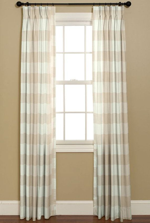 Curtains in BUFFALO CHECK P Kaufmann Fabrics French Country Design 2 Custom Made Curtains