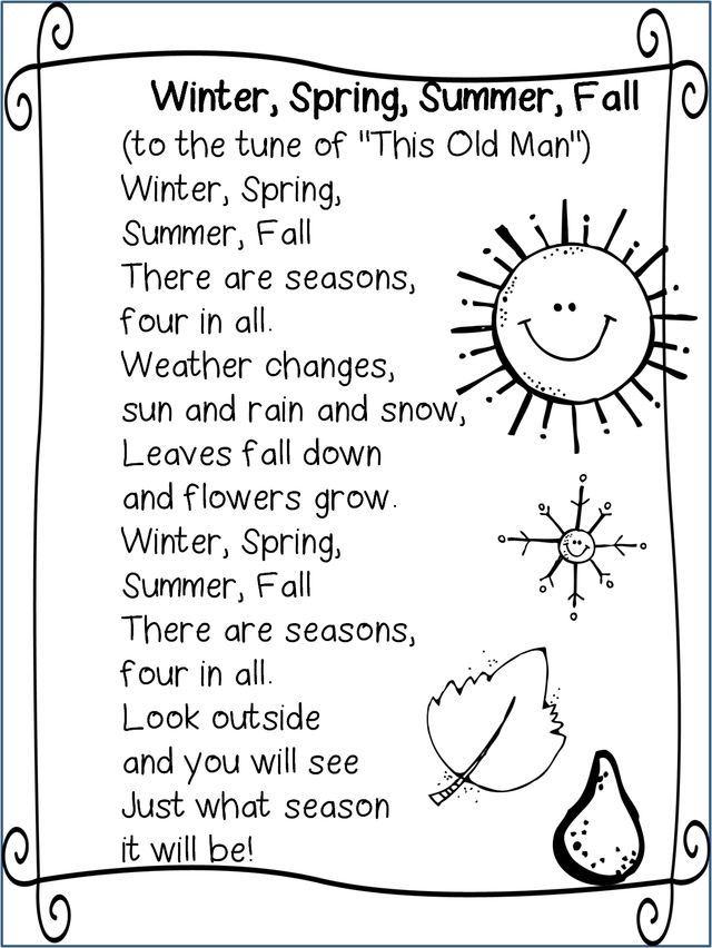 1093 best images about CHILDREN'S SONGS AND POEMS on