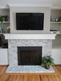 Best 25+ Painting Brick Fireplaces ideas on Pinterest ...
