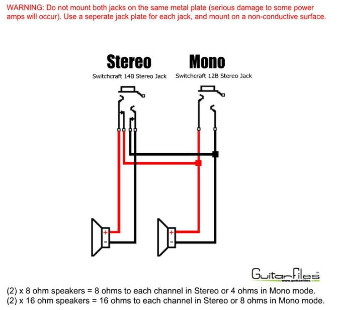 mono to stereo wiring diagram  seven pole trailer wiring