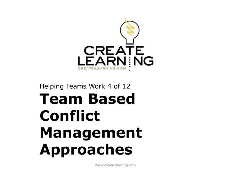 Best 20+ Conflict management ideas on Pinterest
