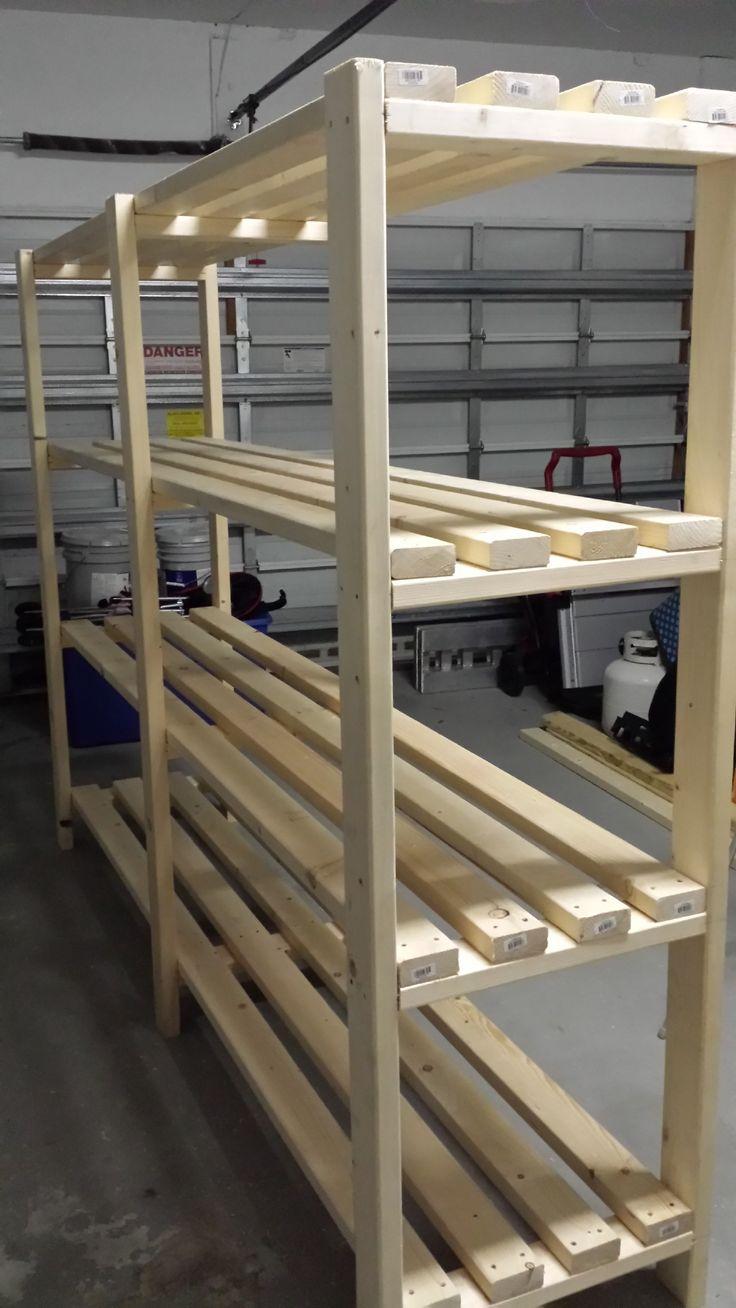 25 best ideas about Diy Garage Shelves on Pinterest  Diy